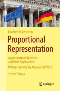 Cover Proportional Representation