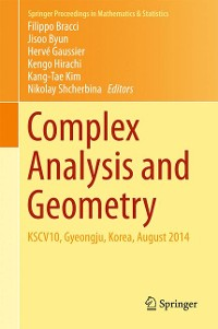 Cover Complex Analysis and Geometry