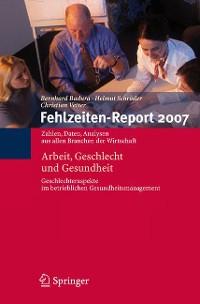 Cover Fehlzeiten-Report 2007