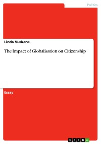Cover The Impact of Globalisation on Citizenship