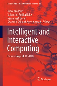 Cover Intelligent and Interactive Computing