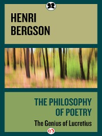 Cover The Philosophy of Poetry