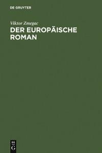Cover Der europäische Roman