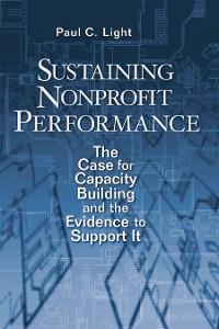 Cover Sustaining Nonprofit Performance