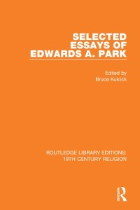 Cover Selected Essays of Edwards A. Park
