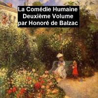 Cover La Comedie Humaine Deuxieme Volume