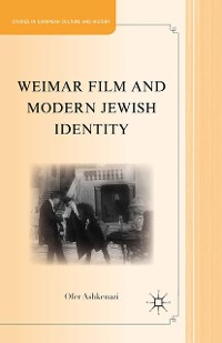 Cover Weimar Film and Modern Jewish Identity