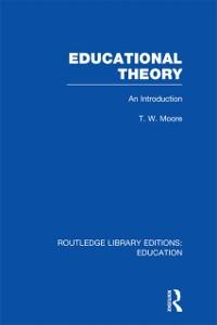 Cover Educational Theory (RLE Edu K)