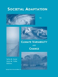 Cover Societal Adaptation to Climate Variability and Change