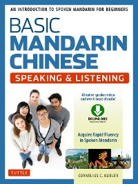 Cover Basic Mandarin Chinese - Speaking & Listening Textbook