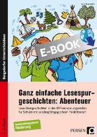 Cover Ganz einfache Lesespurgeschichten: Abenteuer