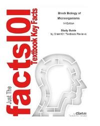 Cover Brock Biology of Microorganisms