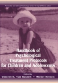 Cover Handbook of Psychological Treatment Protocols for Children and Adolescents