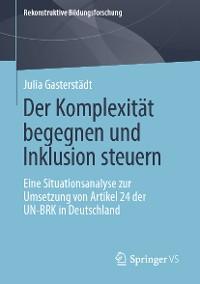 Cover Der Komplexität begegnen und Inklusion steuern