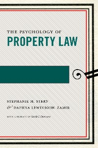 Cover The Psychology of Property Law