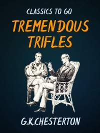 Cover Tremendous Trifles
