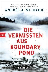 Cover Die Vermissten aus Boundary Pond