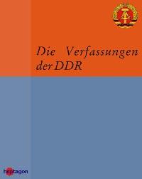 Cover Die Verfassungen der DDR