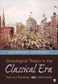 Cover Sociological Theory in the Classical Era