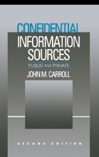 Cover Confidential Information Sources