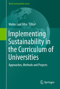Cover Implementing Sustainability in the Curriculum of Universities
