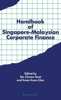 Cover Handbook of Singapore - Malaysian Corporate Finance