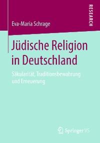 Cover Jüdische Religion in Deutschland
