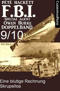 Cover FBI Special Agent Owen Burke Folge 9/10 - Doppelband
