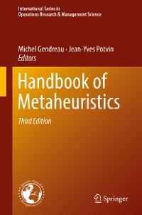 Cover Handbook of Metaheuristics