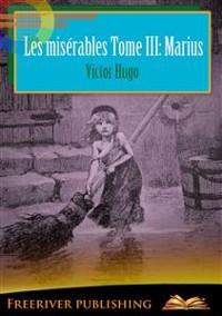 Cover Les misérables Tome III: Marius