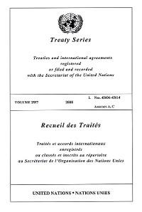 Cover Treaty Series 2557/Recueil des Traités 2557
