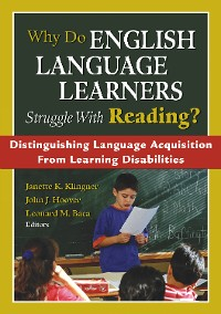 Cover Why Do English Language Learners Struggle With Reading?