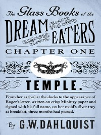 Cover The Glass Books of the Dream Eaters (Chapter 1 Temple)