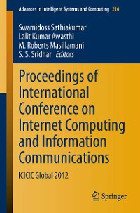 Cover Proceedings of International Conference on Internet Computing and Information Communications