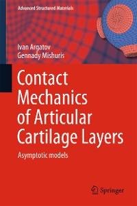 Cover Contact Mechanics of Articular Cartilage Layers