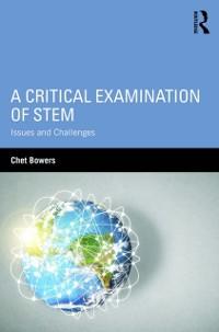 Cover Critical Examination of STEM
