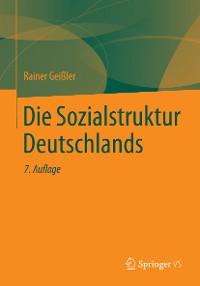 Cover Die Sozialstruktur Deutschlands