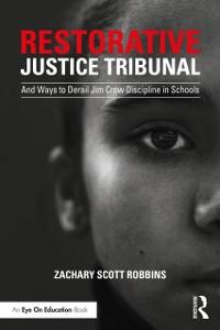 Cover Restorative Justice Tribunal