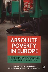 Cover Absolute poverty in Europe