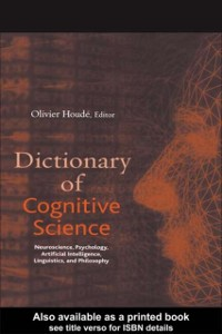 Cover Dictionary of Cognitive Science