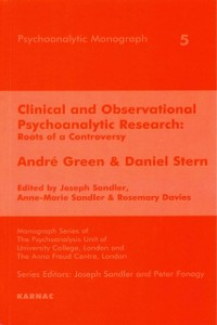 Cover Clinical and Observational Psychoanalytic Research