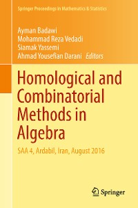 Cover Homological and Combinatorial Methods in Algebra