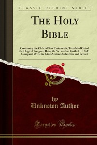 Cover Holy Bible