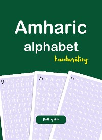 Cover Amharic Alphabet Handwriting