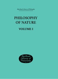 Cover Hegel's Philosophy of Nature