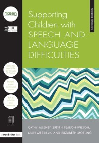 Cover Supporting Children with Speech and Language Difficulties
