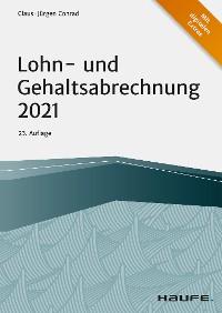 Cover Lohn- und Gehaltsabrechnung 2021