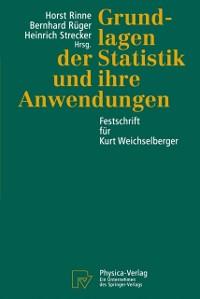 Cover Grundlagen der Statistik und ihre Anwendungen