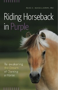 Cover Riding Horseback in Purple