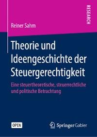 Cover Theorie und Ideengeschichte der Steuergerechtigkeit